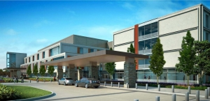 Exterior rendering by Smith Group JJR